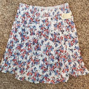 St. John's Bay floral skirt